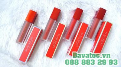 Son Black Rouge Air Fit Velvet Tint Strawberry Red A01 – Đỏ dâu