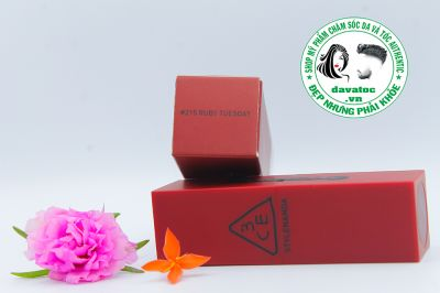 Son 3CE Red Recipe Lip Color 215 – Đỏ Trầm