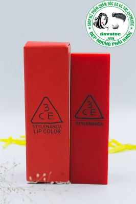 Son 3CE Red Recipe Lip Color 214 – Đỏ Tươi