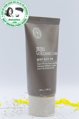 Tuýp lột mụn The face shop Jeju Volcanic Lava Peel Off Clay Nose Mask - Hàn QUốc