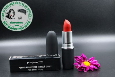 Son Mac Powder Kiss Màu Devoted to Chili 316 – Đỏ Đất