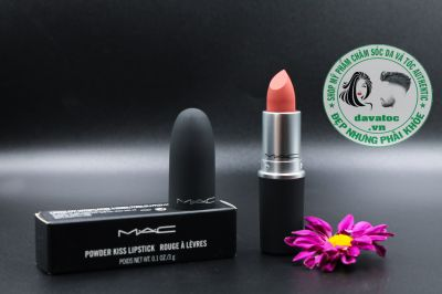 Son Mac powder kiss Stay Curious 923 – Cam Đất Ánh Đỏ
