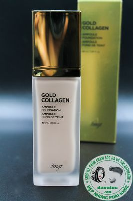 Kem nền Gold Collagen Ampoule Foundation – The Face Shop 40ml - Hàn QUốc